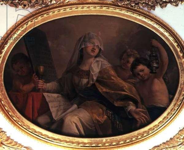 Faith, c.1777 (oil on canvas)