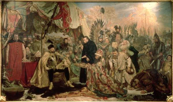 Bathory at Pskov, 1872 (oil on canvas)