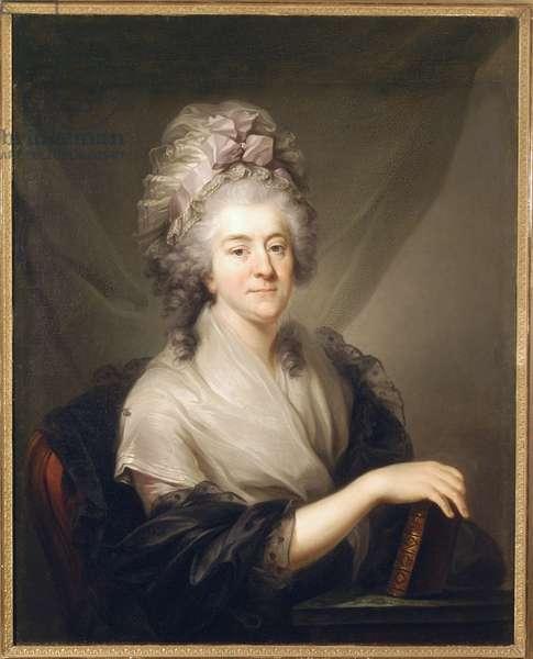 Countess Franciszka Rzewuska, née Cetner, c.1780 (oil on canvas)