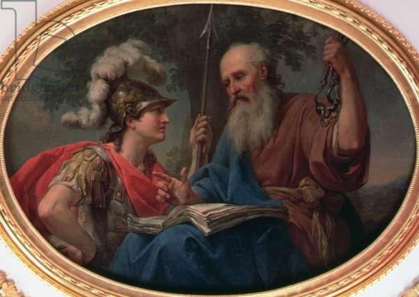 Wisdom, c.1777 (oil on canvas)
