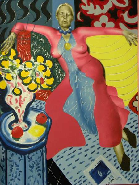 Sans Paroles  1996 (oil on canvas)