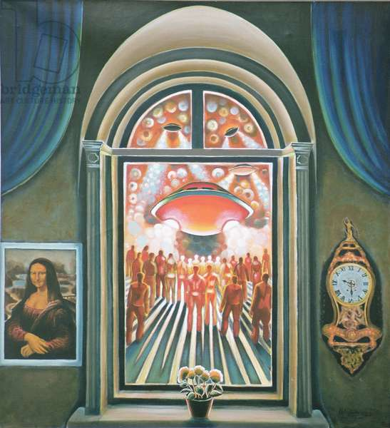 Eternity, 1968 (oil on canvas)