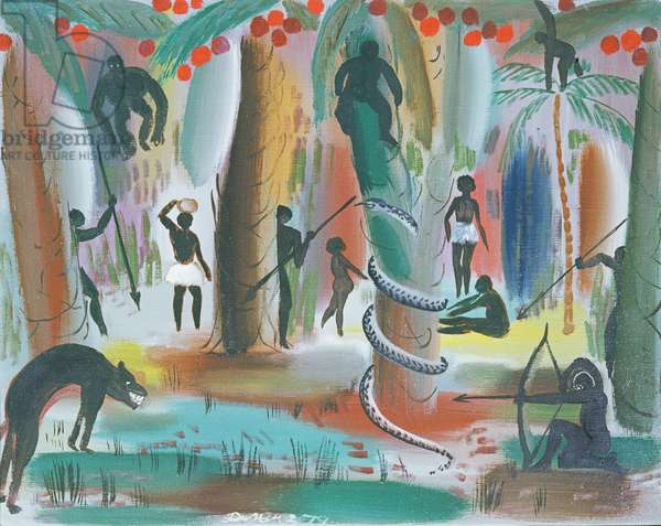 Jungle, 1979 (oil on canvas)