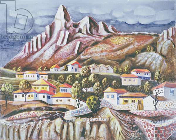 Melnik, 1973 (oil on canvas)