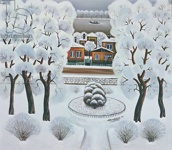Winter Day, 1978 (oil on canvas)