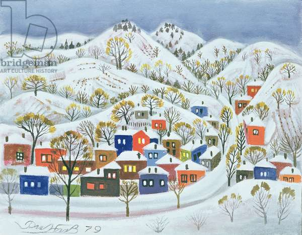 Winter, 1979 (oil on canvas)