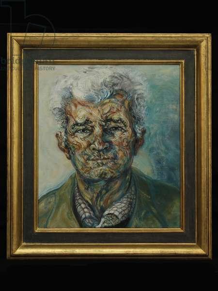 Portrait of Mattei Radev, 2006 (oil on canvas)