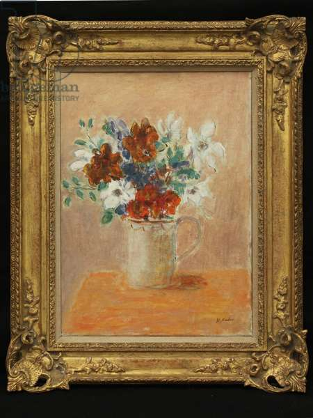 Still Life of Flowers, c.1960 (oil on canvas)