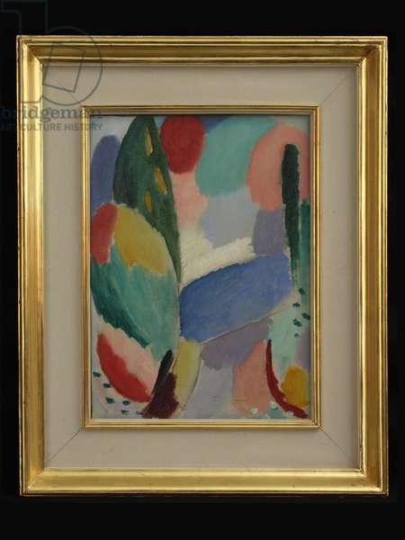Blue Street, 1916 (oil on canvas)