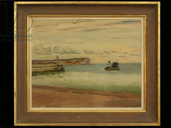 Newhaven, 1938 (oil on canvas)