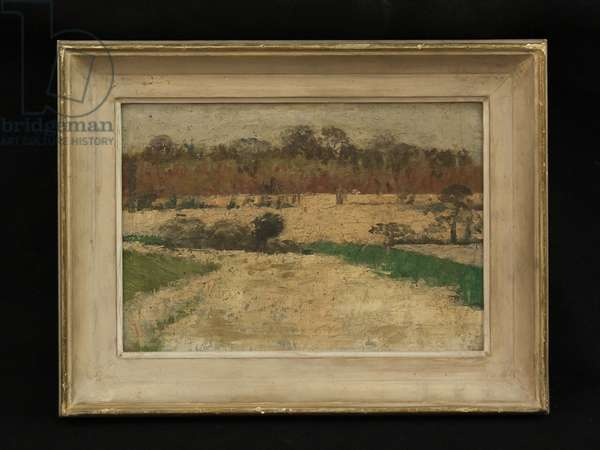 Suffolk Landscape (oil on canvas)