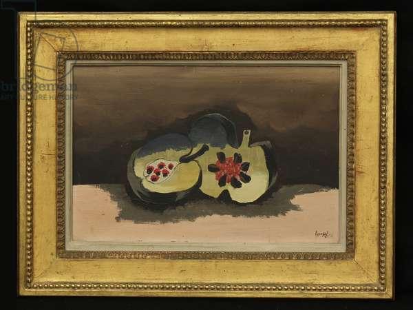 Pomegranates, 1926 (oil on canvas)