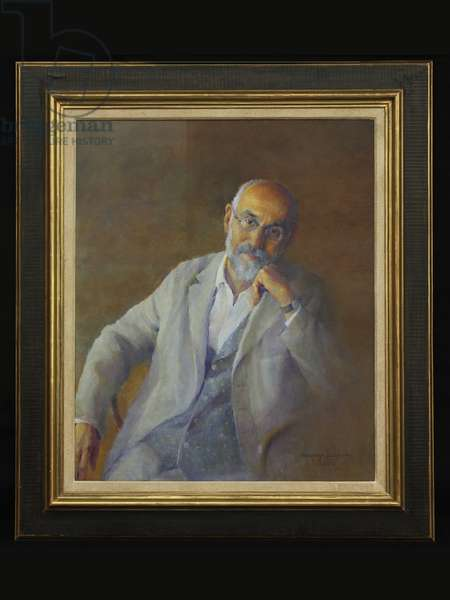 Portrait of Norman Coates, 2010 (oil on canvas)