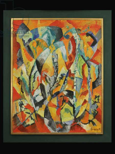 Abstract Landscape, 1958 (oil on canvas)