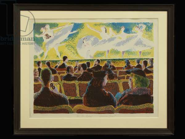 At the Ballet, 1938 (litho)