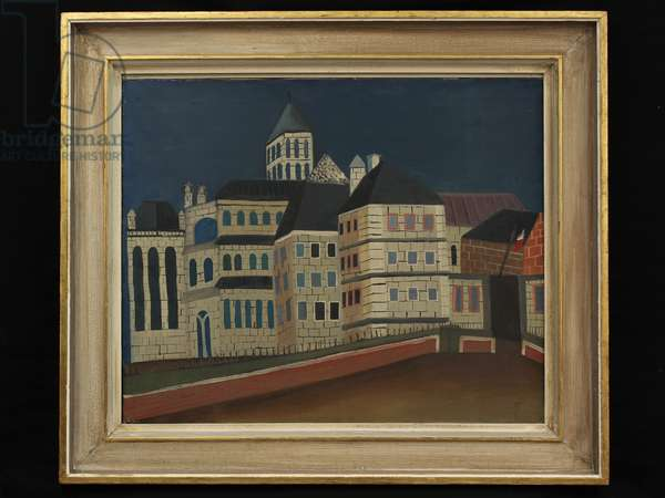 Cathedral, Conques, c.1938 (oil on canvas)