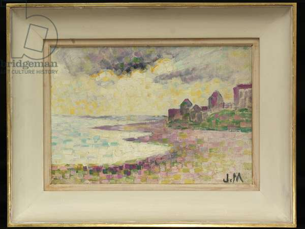 Coastal Scene, (oil on canvas)