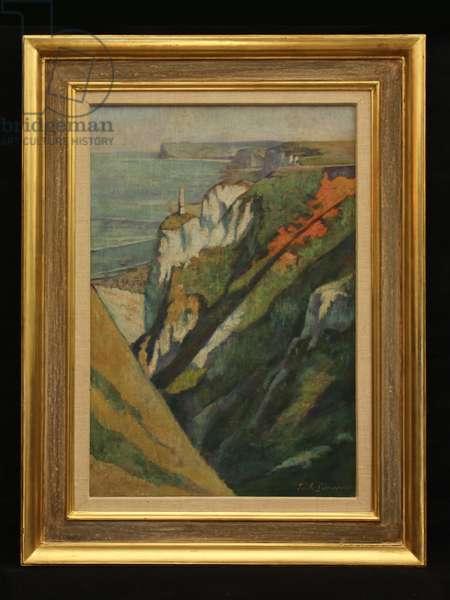 Coastal Scene, c.1925 (oil on canvas)