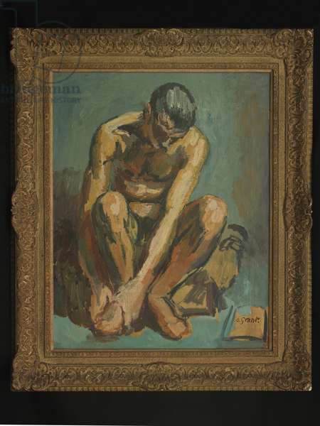 Male Nude, 1940 (oil on canvas)