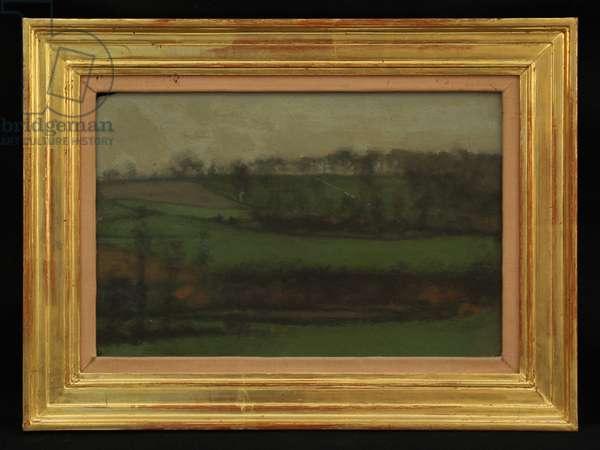 Somerset, c.1910 (oil on board)