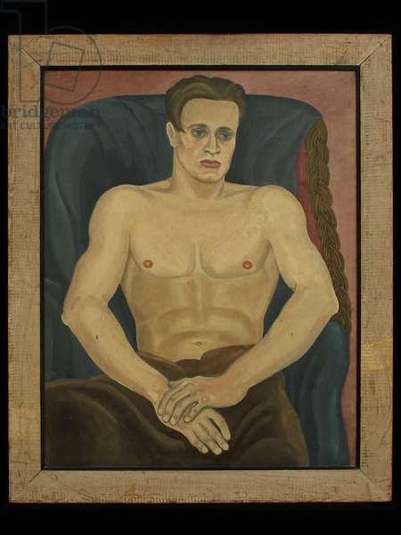 Stephen Tomlin, 1925 (oil on canvas)