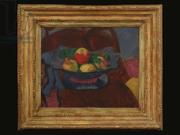 Fruit in Bowl, c.1910 (oil on canvas)