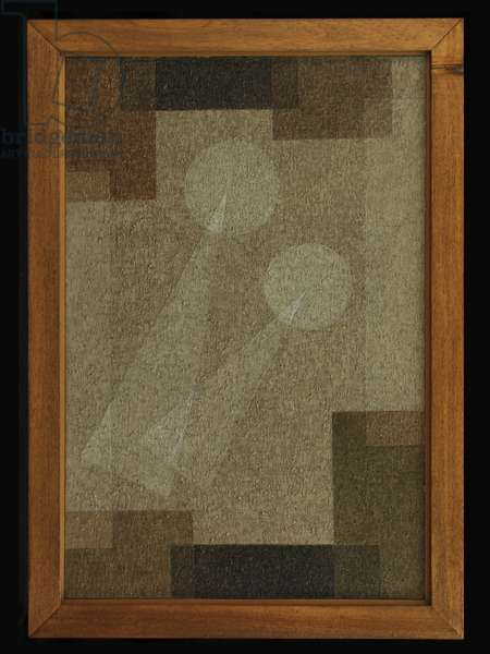Abstract Linear, c.1957 (oil on canvas)