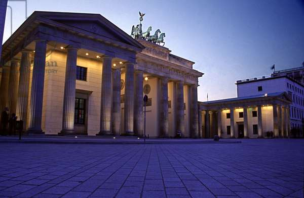 View of the Brandenburg Gate from the South East (photo)