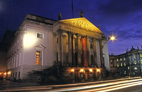German State Opera House, Mitte, built 1741-43 (photo)
