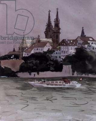 Basel, 1987 (w/c)