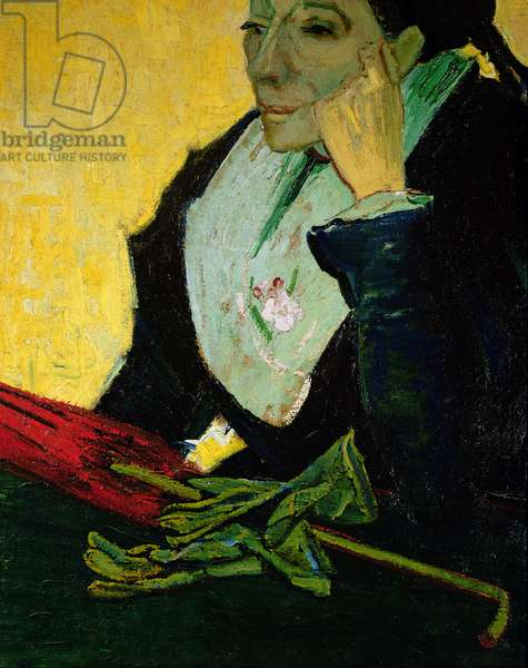 L'Arlesienne, detail, 1888 (oil on canvas) (see 115994)