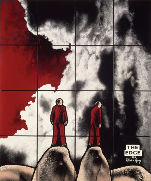 The Edge, c.1988 (acrylic)