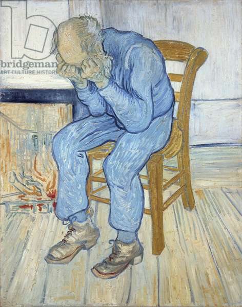 Old Man in Sorrow (On the Threshold of Eternity) 1890 (oil on canvas)