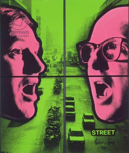 Street, c.1983 (acrylic)