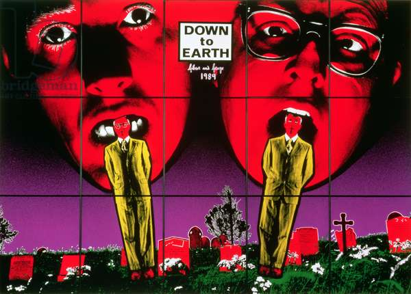 Down to Earth, 1989 (acrylic)