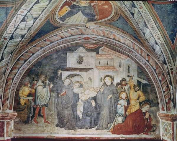 The Martyrdom of Saint Placidus in Messina (fresco)