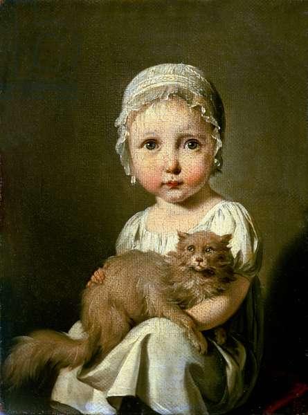Gabrielle Arnault (1811-72) 1813 (oil on canvas)