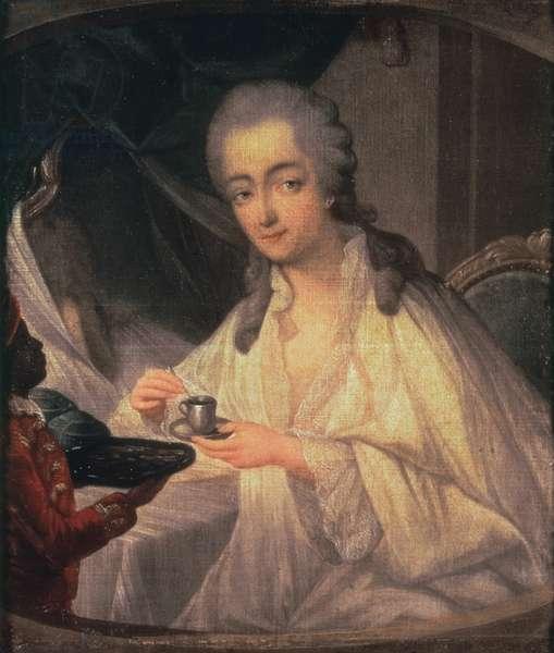 La Comtesse du Barry (1743-93) (oil on canvas)