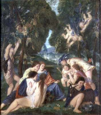 The Childhood of Bacchus, 1919-20