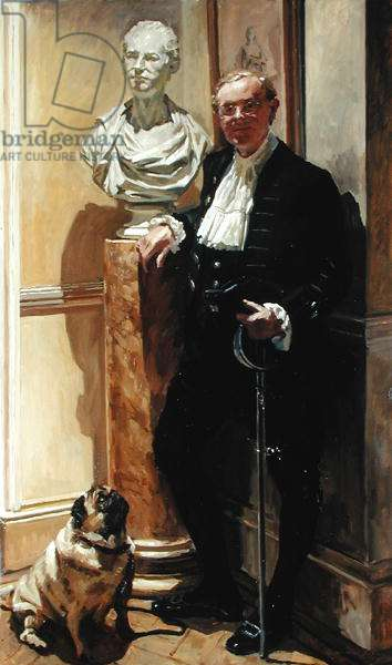 High Sheriff of Buckinghamshire (oil on canvas)