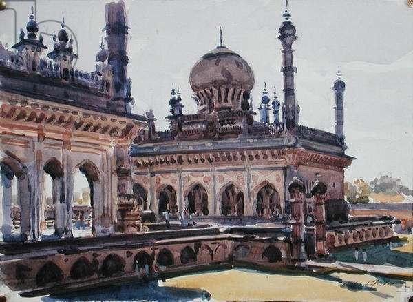 Mausoleum, Bijapur (w/c on paper)