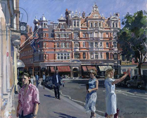 Sloane Square (oil on canvas)