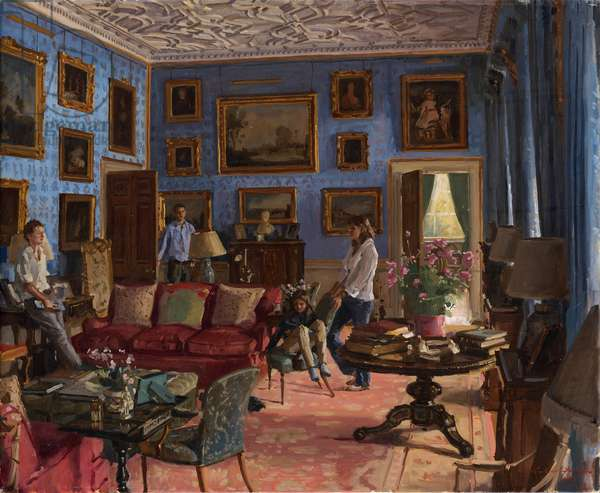 Blue Drawing Room Melbury