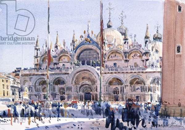 San Marco, Venice (w/c on paper)