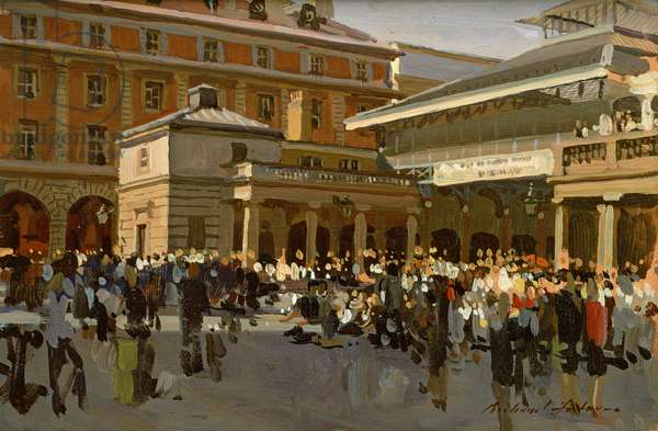 Covent Garden (oil on canvas)