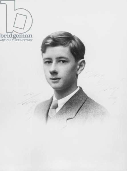 Philippe de Gaulle (b.1921) c.1934-36 (b/w photo)