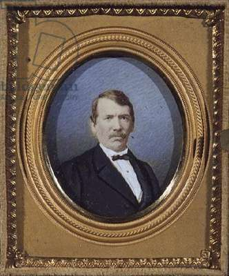 T727 Miniature of Dr David Livingstone, c.1865