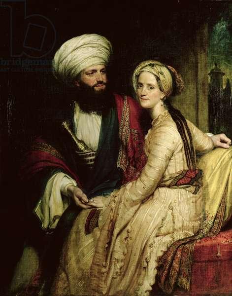 James Silk Buckingham and his Wife