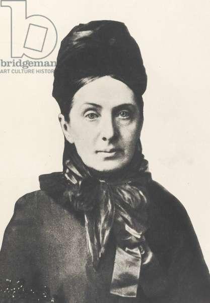 Isabella Bird Bishop (1831-1904) 1881 (b/w photo)