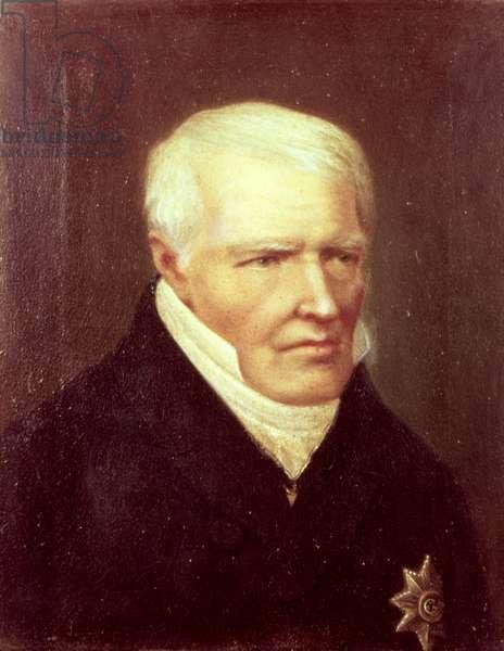 Friedrich Heinrich Alexander, Baron von Humboldt (oil)